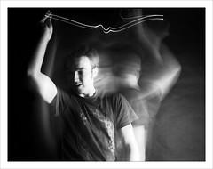 Tom's Mental State (Sean Wakefield Photography & Retouching) Tags: camera nottingham 120 speed portraits studio long exposure slow flash tricks trent bronica shutter uni ilfordfp4