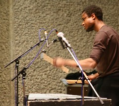 photo of Corey Mwamba at the Barbican