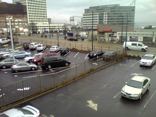 "Nine adjacent surface level parking lots in downtown Tacoma forming a ""dead zone"" in the heart of the city."