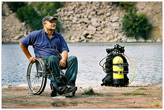 ???»?µ?? ???»?µ?????°?????????????? ???????????????? ??? ???°?????µ?? | Oleg Prokhorov ??? disabled scuba-diver