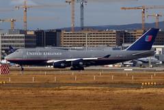 United Airlines Boeing 747-422 N121UA (9130) (Thomas Becker) Tags: germany geotagged deutschland airport nikon hessen frankfurt united boeing d200 flughafen tamron 747 spotting fra unitedairlines b747 747400 fraport staralliance b747400 200500mm 747422 n121ua b747422 080120 geo:lat=50039323 geo:lon=8596877
