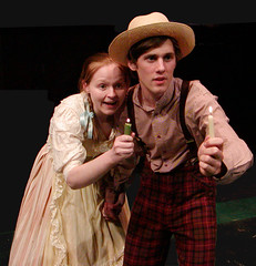 Tom Sawyer and Becky Thatcher