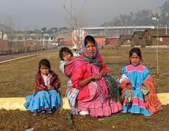 Tarahumara mother and children, Creel, Mexico (ali eminov) Tags: creelmountainlodge creel mexico raramuri indigenoustribalphotos tarahumara mothers mothersanddaughters children childrenarebeautiful mimexico