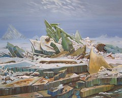 After Friedrich Sea of Ice (Fareed Suheimat) Tags: sea snow seascape david art nature painting landscape artwork ship kunst hamburg canvas shipwreck german oil oilpainting caspar friedrich kunsthalle romanticism fareed germanart greenice monumentalism lmalerei polarsea seaofice suheimat daseismeer wreckofhope