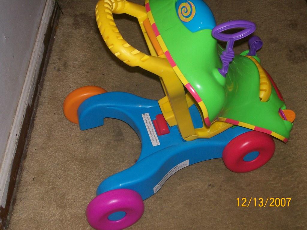 playskool ride on walker toy $10