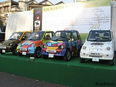 Reva - Electric Car (jeevan_balwant) Tags: india color colour art car fashion electric fun design automobile colorful paint small transport young funky trendy colourful newgeneration mumbai bold hatchback ecofriendly conceptcars reva citycar alternativefuel electriccars modifiedcars custompainted cardecor paintedcars jeevanbalwant nonpollutingcars jeevbalwant batteryoperatedvehicles batteryoperatedcars