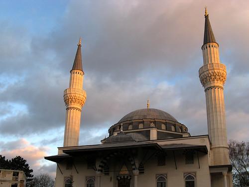 Şehitlik Mosque Berlin.