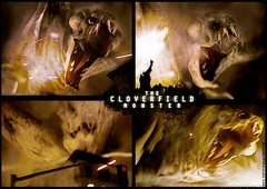 The Cloverfield Monster el monstruo