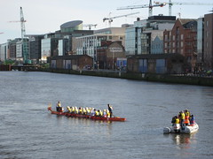 Bimbos and the Paps (Waltzer) Tags: new dublin river fun year chinese photographers liffey wigs bimbos