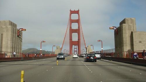 All'ingresso del ponte...