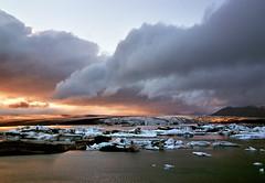 Jökulsárlón - Iceland (tigrić) Tags: autumn winter lake cold ice nature water landscape iceland melting september glacier iceberg route1 jokulsarlon globalwarming glacierlagoon