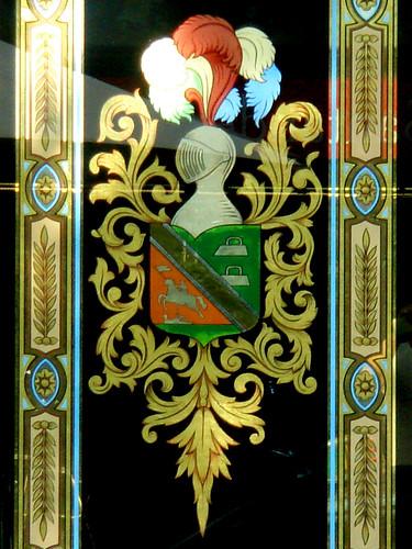 Crest on Glass