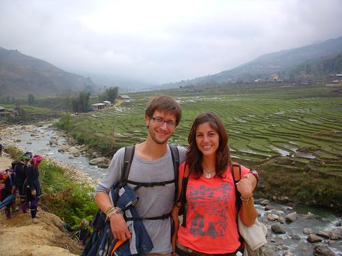 arrozales valle del sapa, Vietnam, blog la vuelta al mundo de ana y dani, entrevista la vuelta al mundo de ana y dani, vuelta al mundo, round the world, información viajes, consejos, fotos, guía, diario, excursiones