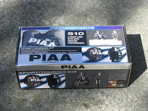 bikes installing piaa lights
