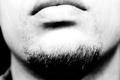 My fuzz (Monkey Balls) Tags: face neck beard 50mm lip 50mmf14 xti 400d