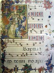 foto de libro codice medieval