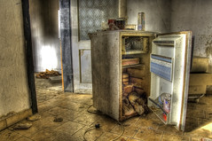 What's for dinner? ((Erik)) Tags: food abandoned kitchen belgium decay urbandecay dirt urbanexploration refrigerator hdr maggots hellskitchen trashed urbex doel whatsfordinner rottenfood 5xp pentaxk20d erikvanhannen nobodywantsthecanofbeer