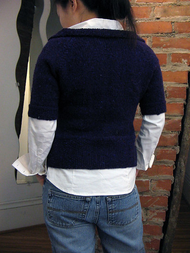 Puff Sleeve Cardigan from Fitted Knits