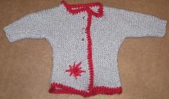 Blue Sweater 001 (mslilly) Tags: alpaca knitting twinkle yarn