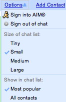 GChat use AOL