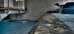 Glistening Waters (wiifm) Tags: newzealand water waterfall waterfront wellington civicsquare hdr panasonicdmctz3