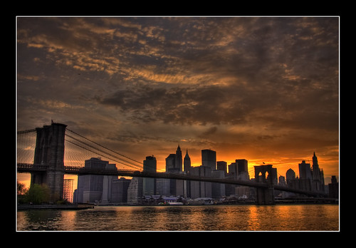 New York cityscape - HDR