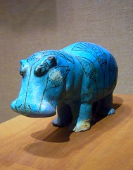 William the Hippopotamus (ggnyc) Tags: nyc newyorkcity blue sculpture newyork faience museum lotus manhattan tomb egypt william mascot lilies lucky egyptian offering hippo hippopotamus met figurine magical protector meir metropolitanmuseumofart ancientegypt egyptology egyptianart lotuses dynasty12 12thdynasty