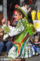 054 Thanksgiving Parade - San Simon USA (rivarix) Tags: silverspringthanksgivingparade thanksgivingdayparade silverspringmaryland usfederalholiday festival partycelebration carnival caporales boliviandance maledancer cascabeles sansimonusa