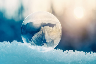 Frozen bubble | Explored on 2017.02.12 | Thank you all!