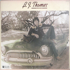 BJ on the Hood (epiclectic) Tags: music records art vintage buick album vinyl retro collection jacket cover lp 1975 record sleeve 1953 bjthomas epiclectic