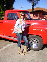 my gal and another pick up (hermannz) Tags: old chevrolet up car brasil chevy pick collector