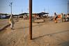 Riverfront (Leonid Plotkin) Tags: india festival asia traditional religion ritual tradition hindu hinduism mela sangam allahabad pryag maghmela