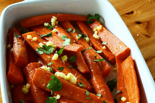 Carrots Ginger and Garlic