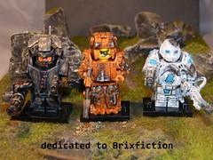 Dedication to Brixfication (SecutorC) Tags: fighter lego fantasy future warrior custom apoc customlegoapoc