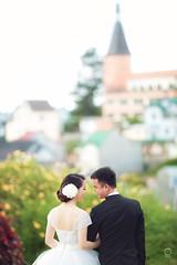 nh ci p -  Lt (Qunh Trang, Mnh Cng) ( studio   opro.vn   ng Thin   ) Tags: wedding flower love kiss couple lavender bridal dalat lt