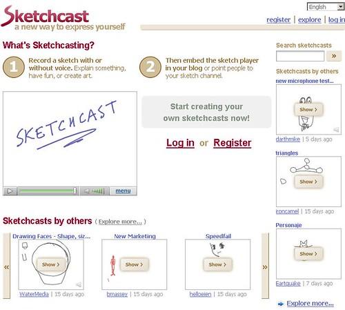 Sketchcast