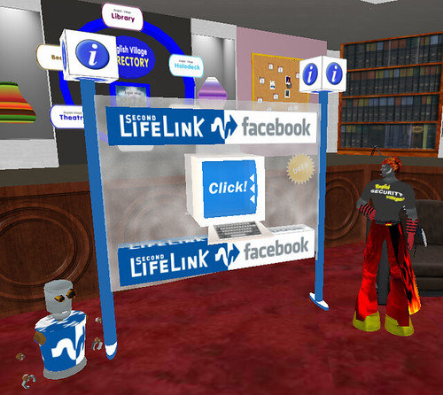 Second Life Link terminal