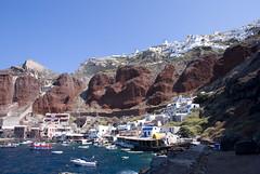 Colored Land - Santorini (Carlo_it) Tags: sea color landscape island greek santorini greece carlo oia cyclades arioli