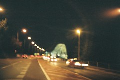 Silver Jubilee Bridge (andy_sunley) Tags: bridge lomo lca lomography lomolca runcornbridge widnesbridge silvejubileebridge