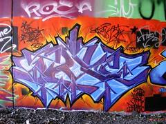 tek 9 (ExcuseMySarcasm) Tags: urban streetart art graffiti grafiti graf detroit 9 graffito piece tek graffitis fbs cns cityart dequindrecut