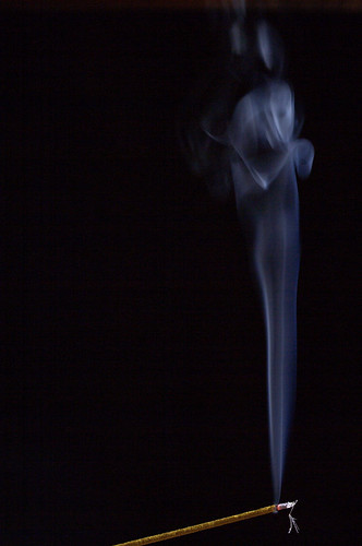 experiment with incense 2