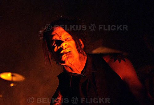 Chris Vrenna of Marilyn Manson @ B1, Moscow, 14.11.2007