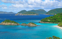 St. John - U.S. Virgin Islands (scaturchio) Tags: christmas cruise blue bay nice ship bluewater virgin trunkbay st us islands flickrchallengegroup flickrchallengewinner john