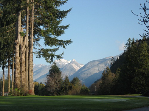 Mountains From Gleneagles Golf Course