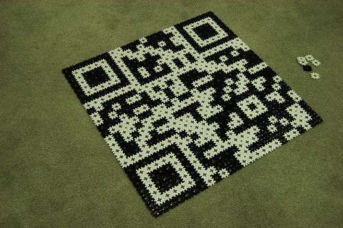 QR code en blocs SOZ Carpenter Block mini