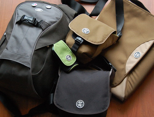 Pile 'O' Crumpler Bags