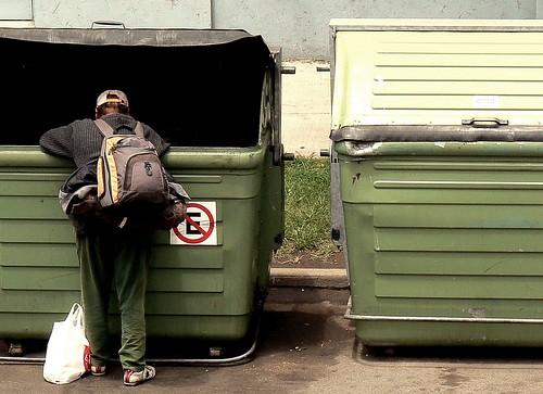 La bolsa de basura