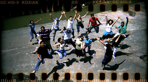KLflickr Photowalk (Analog Issue): Lompat!!!