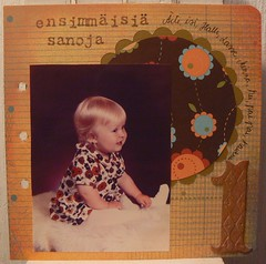 Scrapbook album from me
