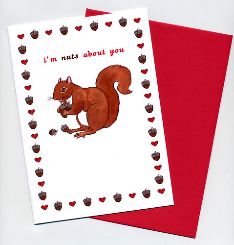 nuts card with envelope